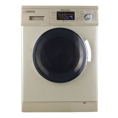 Equator Combo Washer/Dryer, Champagne Gold (Vented/Ventless) with Winterize and Quiet Feature, EZ 4400 N/G