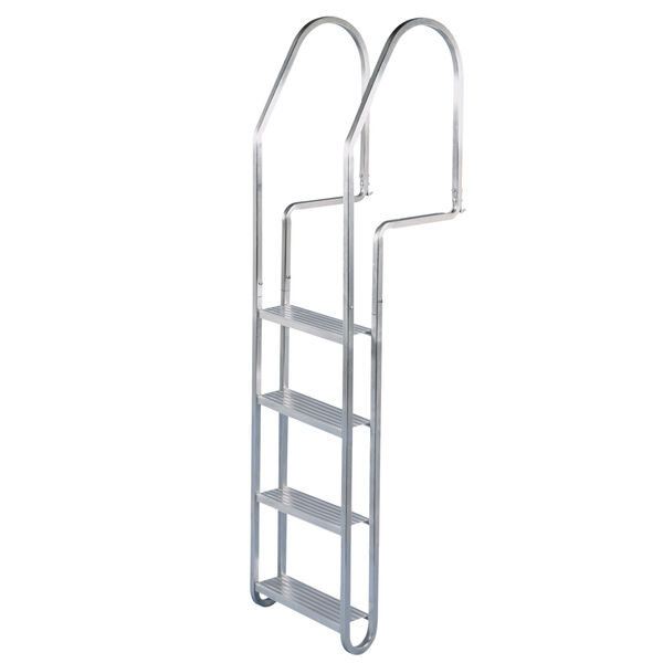 Dock Edge 4-Step Aluminum Dock Ladder with Quick Release
