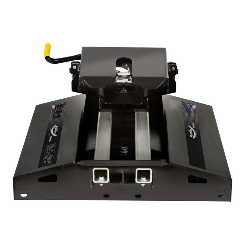 12K Fifth Wheel #3100 Traditional Series SuperGlide Hitch for Super Short (5-1/2') Truck Beds  image number 2