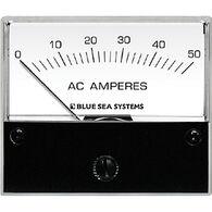 Blue Sea AC Analog Ammeter + Transformer, 0-50A