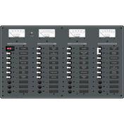 Blue Sea AC Main/DC Main Toggle Circuit Breaker Panel, Model 8095