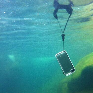Catalyst iPhone Case Floating Lanyard