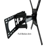 "Mount-32""-80"" Full Motion TV-Double Arm with HDMI Cable"