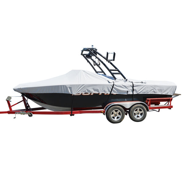 Tower-All Euro V-Hull Outboard Boat Cover - 20'5'' max length