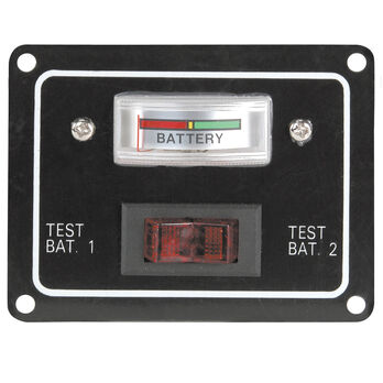 Single Battery Test Switch Panel