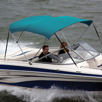 """Shademate Bimini Top Sunbrella Fabric and Boot Only, 3-Bow 6'L, 36""""H, 73""""-78""""W"""