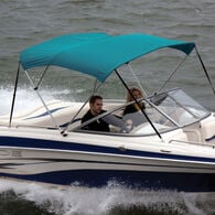 """Shademate Bimini Top Sunbrella Fabric and Boot Only, 3-Bow 5'L, 32""""H, 61""""-66""""W"""