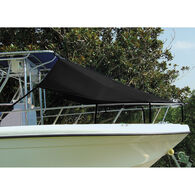"T-Top Bow Shade, Black (6'L x 90""W)"