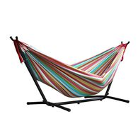 Vivere Double Hammock with 9' Stand Combo, Salsa