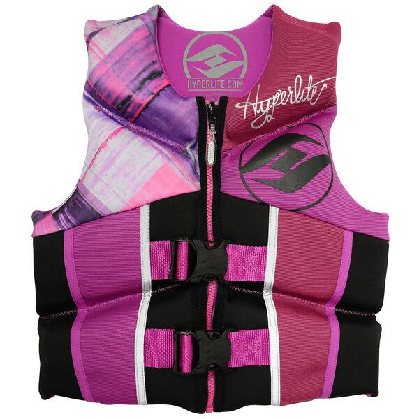 Hyperlite Pro V Youth Life Jacket, purple