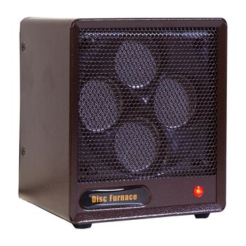 Portable Brown Box Ceramic Disc Heater