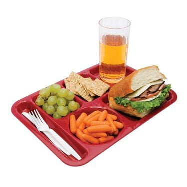 Cafeteria Tray, Red
