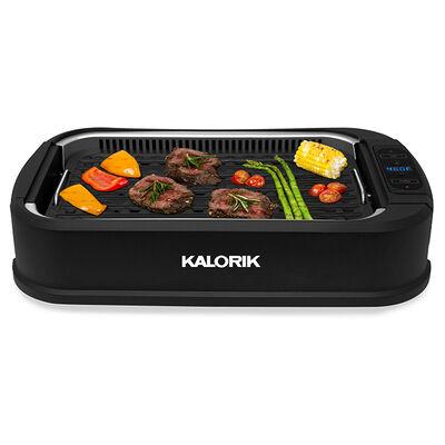 Kalorik Indoor Smokeless Grill, Black