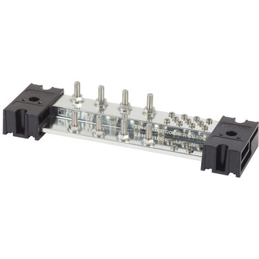 "Blue Sea Systems PowerBar 1000A Common Busbar, 8 x 5/16"" Terminal Studs"
