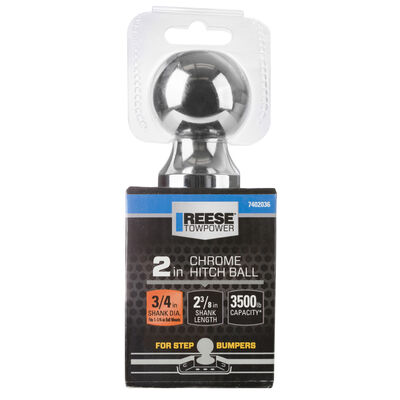 """Reese Towpower 2"""" Ball Mount Storage"""