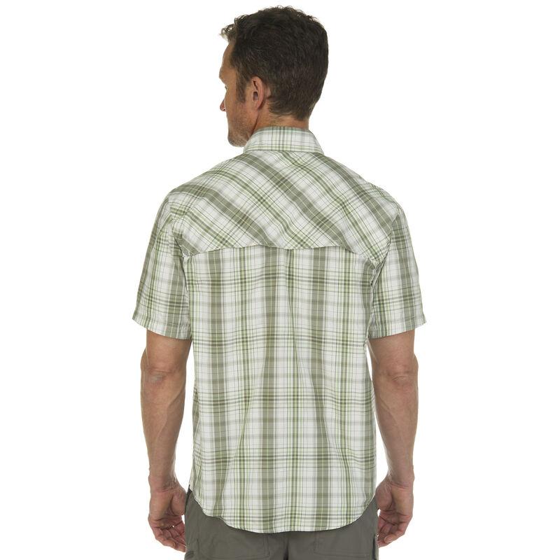 Nepallo Men's Trophy Quick-Dry Plaid Short-Sleeve Shirt image number 7