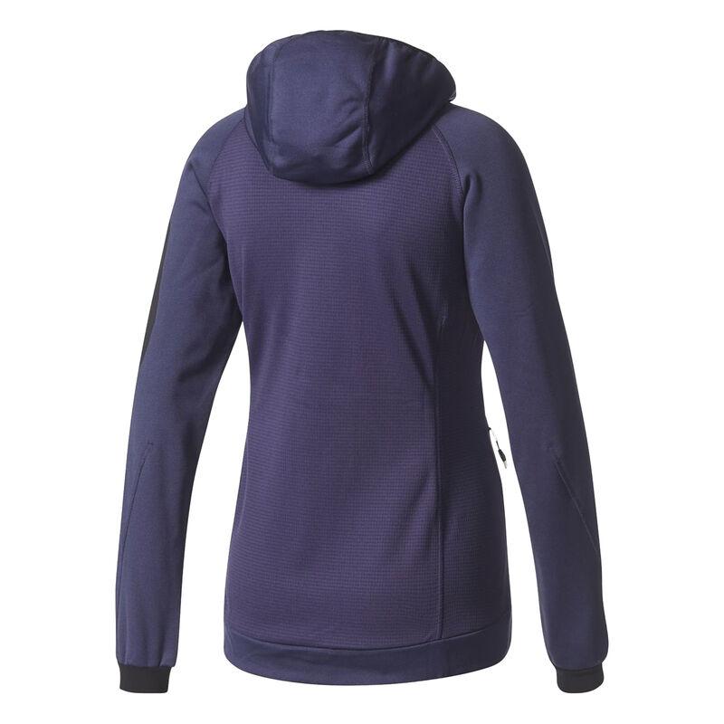 Adidas Women's Terrex Stockhorn Fleece Full-Zip Hoodie image number 5