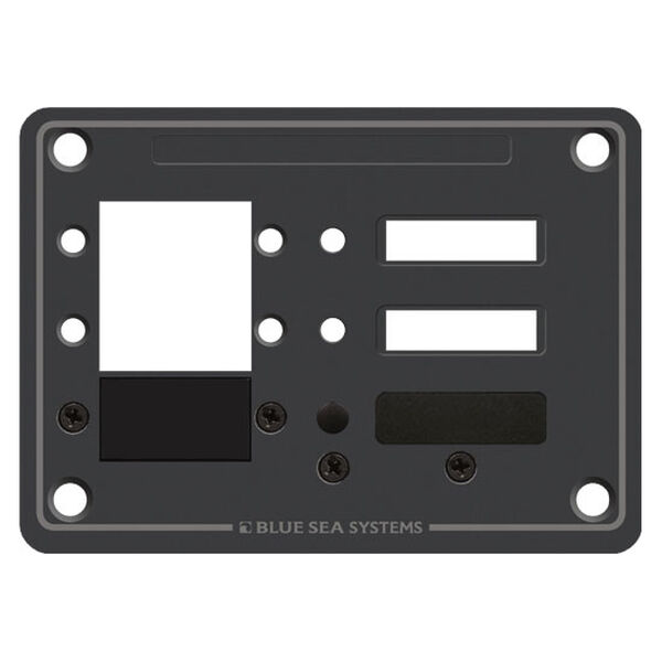 Blue Sea Systems Panel, DC 3 Positions, C-Series