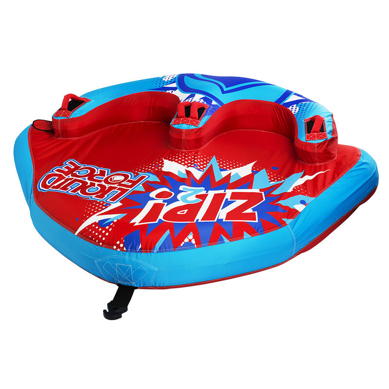 Liquid Force Zip 2-Person Towable Tube image number 3