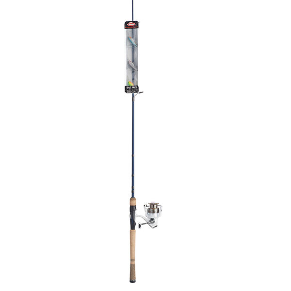 """Abu Garcia Max Pro 20 Reel and Fenwick Eagle Rod Spinning Combo, 6'6"""" M"""