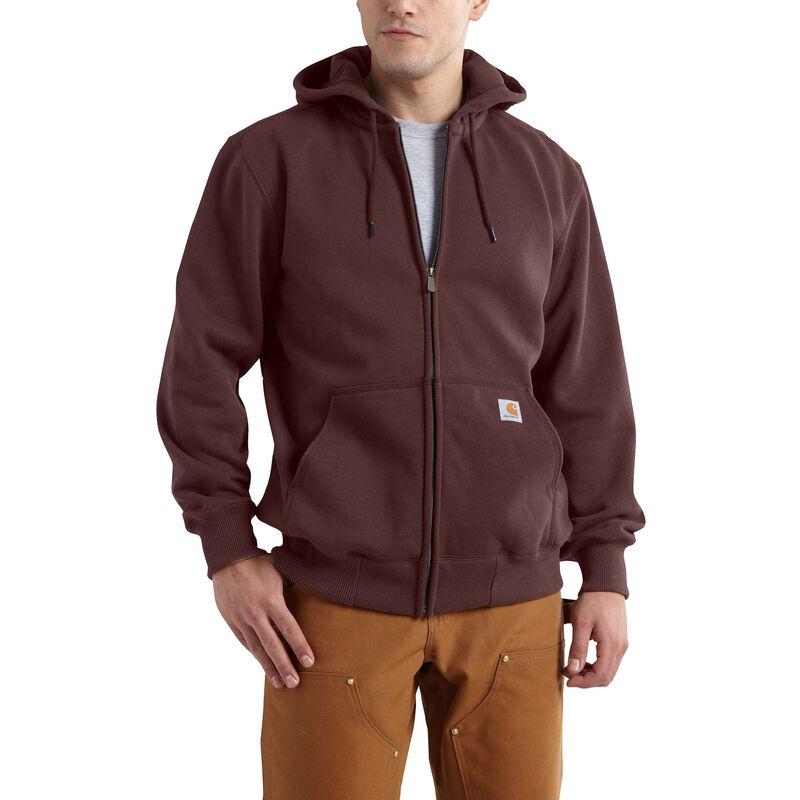 Carhartt Men's Rain Defender Paxton Heavyweight Hooded Zip-Front Sweatshirt image number 1