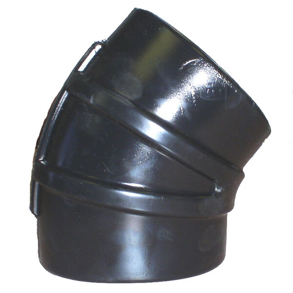 "Sierra 4"" EPDM 45° Elbow With Clamps"
