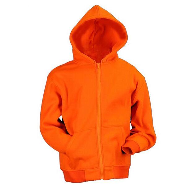 Gamehide Youth Deer Camp Full-Zip Hoodie - Blaze Orange