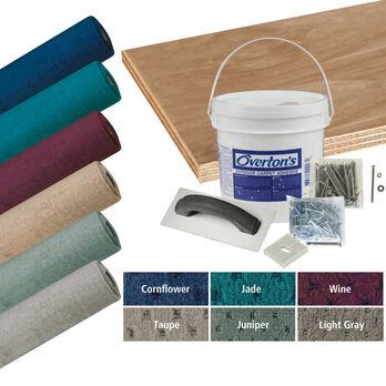 Overton's Blockade Carpet and Deck Kit, 8'W x 25'L