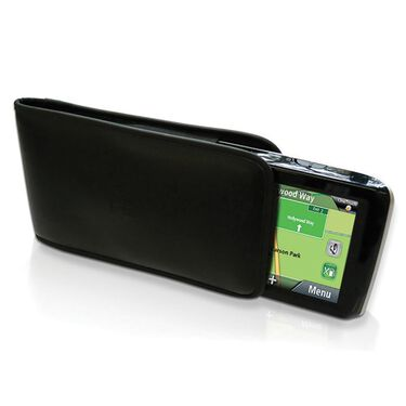 Leather Sleeve Case for GPS - 7""