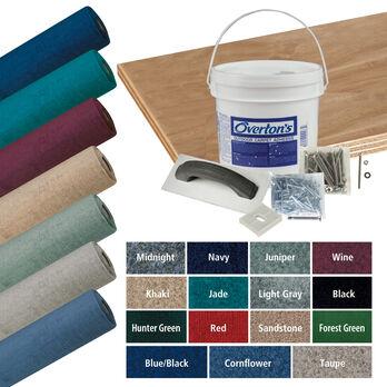 Overton's Daystar Carpet and Deck Kit, 8'W x 16'L