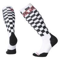 SmartWool Men's VANS Checkerboard PhD Snowboard Medium Sock