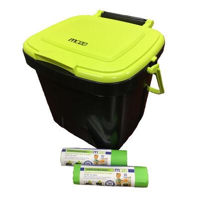 MAZE 1.85 Gallon Kitchen Caddie with MAZE Corn Bags