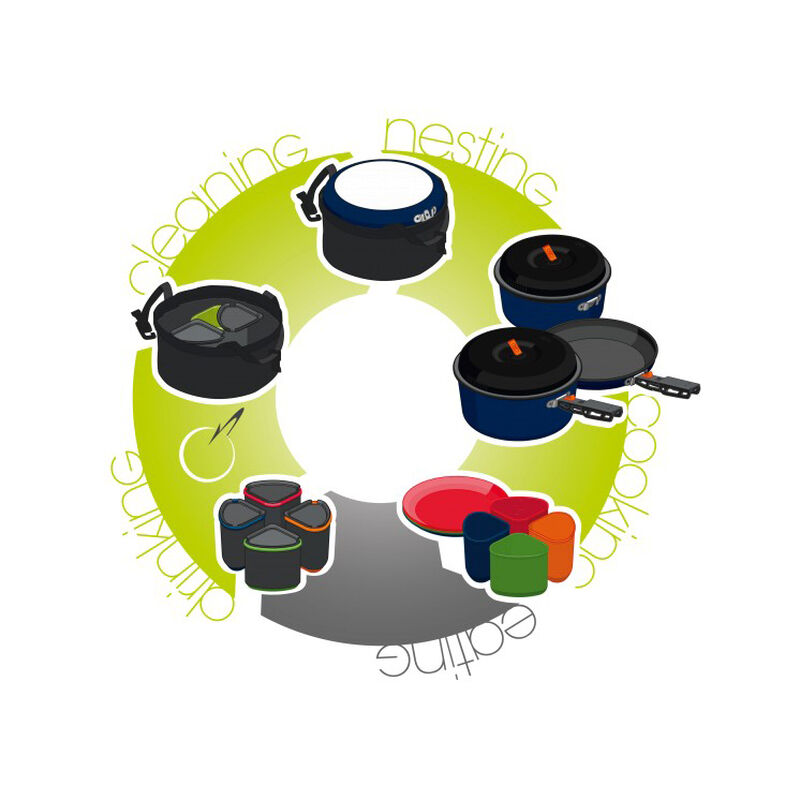 GSI Outdoors Bugaboo Camper Cookware Set image number 11
