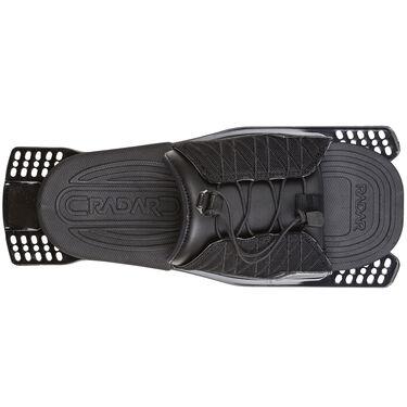 Radar Adjustable Rear Toe Plate With Feather Frame, Titanium