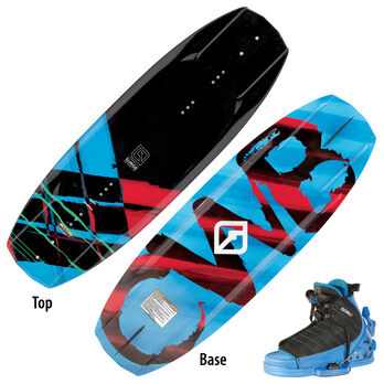Connelly Surge 125 Wakeboard With Tyke Bindings