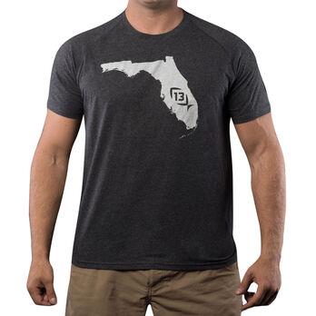 13 Fishing Onyx State Florida Tee