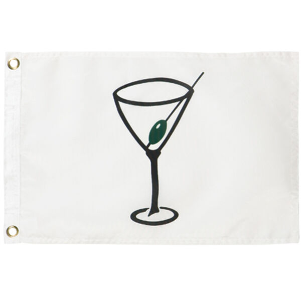 "Cocktail Flag, 12"" x 18"""