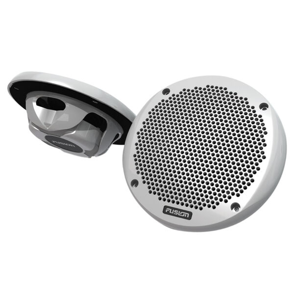 """Fusion MS-EL602 6"""" Shallow-Mount 2-Way Speakers, pair"""