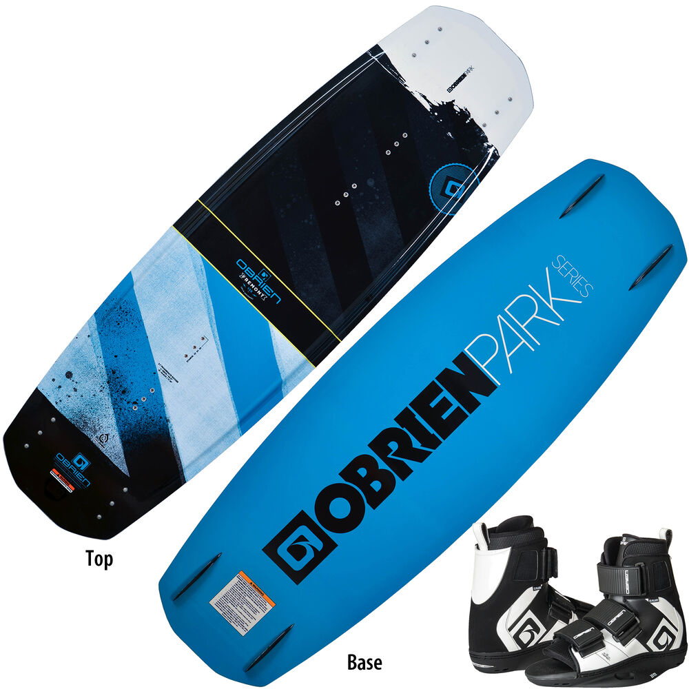 O'Brien Fremont Wakeboard With Plan B Bindings