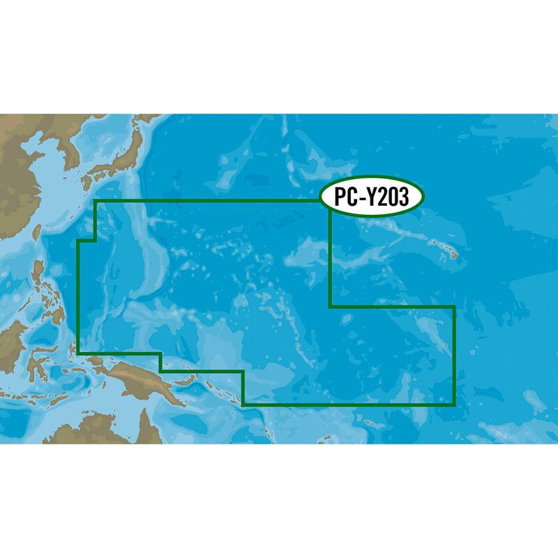C-MAP MAX-N+ PC-Y203, Carolinas, Kiribati, Marshall, And Marinas image number 1