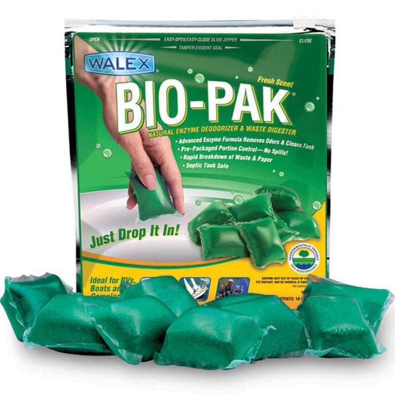 Bio-Pak Natural Enzyme Deodorizer, Paper and Waste Digester - Alpine Fresh image number 1