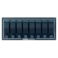 Paneltronics Waterproof Contura Switch Panel - 8-Switch Horizontal