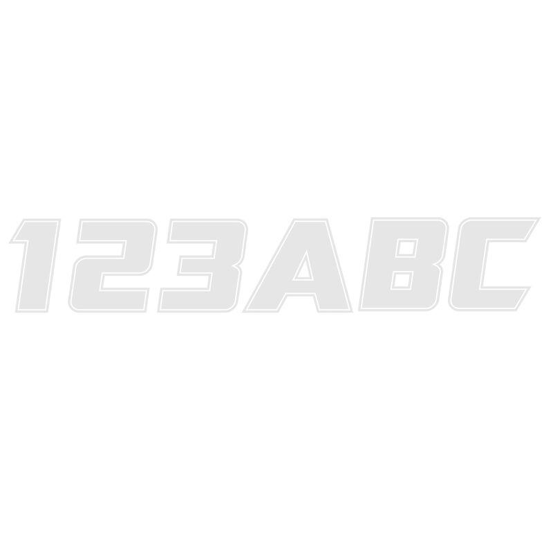"""Hardline 900 Series 3"""" Letter/Number Kit image number 13"""