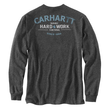Carhartt Men's Workwear Hard Work Graphic Long-Sleeve Tee