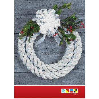Christmas Wreath Rope Christmas Cards