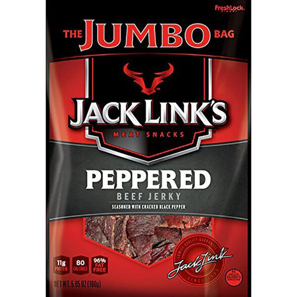 Jack Link's Peppered Beef Jerky, 5.85 oz.