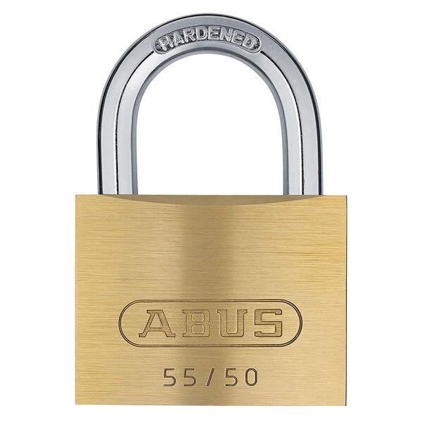 Abus Lock Brass Padlock, 55/50