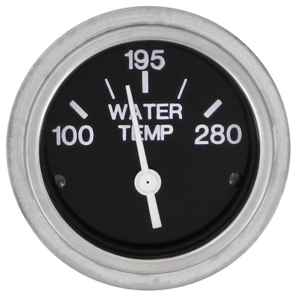 "Sierra 2"" Water Temperature Gauge, 100°-280°"
