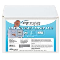"Dicor Coating-Ready Cover Tape, 50'L x 4""W"