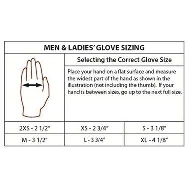 Gladiator Lady Fingers Waterski Glove